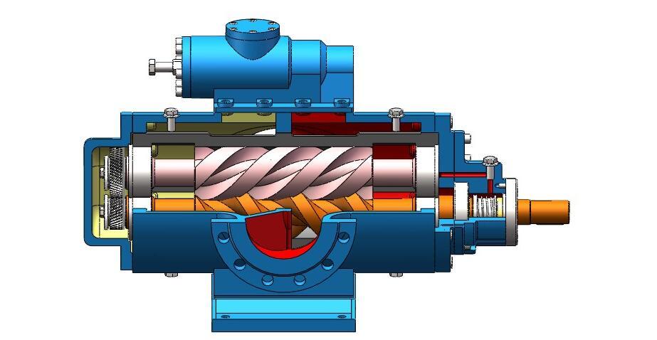 为什么大多数客户喜欢三螺杆泵?当然是三螺杆泵具有其自身的优势,首要特点三螺杆泵在输送过程中是呈现出来的直线连续输送,这种方式的特点就是无搅拌无脉动,这款泵可以解决高压客户的需求一般压力可以到达2.5mpa。 密封则是采用的机械密封这种密封的好处便是防泄漏效果很好,我们在共同探讨下3G25*4/46三螺杆泵里面每个数字代表的含义,这样可以让我们更好的了解三螺杆泵,一般3G指的就是三螺杆泵,25值得是螺杆外径25mm4这的螺杆的螺距数目是4个46便是螺杆的螺旋角的度数。 三螺杆泵是带有安全阀的一款油泵有需要